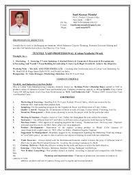 Merchandiser Job Description For Resume Best Of Sunil LATEST RESUME