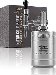 The two main things you should consider are the flavor profile you want and the ease of use. Amazon Com My Morning Brew Nitro Cold Brew Coffee Maker Premium Portable Home Brewing Kit Stainless Steel Kitchen Dining
