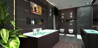 nice apartment bathrooms. Luxurious Bathroom Designs For Apartments Ideas : Luxury Penthouse Apartment With Awesome Wooden Wall Design Nice Bathrooms O