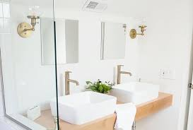 choosing bathroom lighting consider your cur finishes