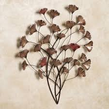 >ginkgo whispers metal wall sculpture ginkgo whispers metal wall sculpture bronze touch to zoom
