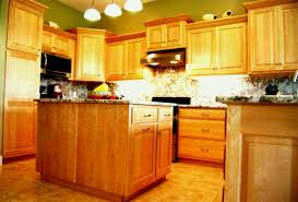 lighting light maple cabinets with dark wood floors backsplash granite countertops that goes kitchen pictures appealing