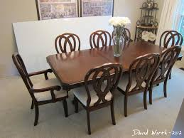 dining room table and fabric chairs. Dining Room Table And Chairs Set, Recovered Fabric, Wood Table, Sturdy Fabric I