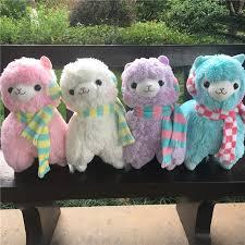 14 Colors Big Size 35/45cm Rainbow <b>Alpaca Plush Toy</b> ,Japanese ...