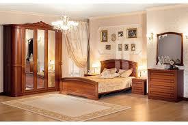 Italienisches Schlafzimmer Valencia 6 Teilig In Kirschholz