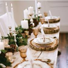 Amazing homemade christmas table centrepieces wood rustic christmas center  piece