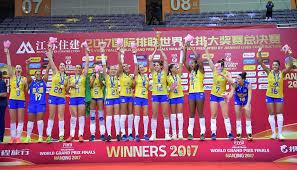 Resultado de imagem para Brasil campeão do grand prix de volei feminino 2017