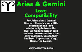 Aries Man And Gemini Woman Compatibility Chart Aries Gemini Love Compatibility Know Love Compatibility