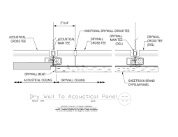 09 21 16 93 175 09 51 13 175 dwss drywall to acoustical panel transition
