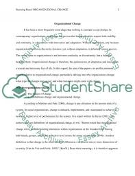 organizational change essay example topics and well written related essays organizational change