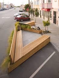furniture architecture. noriega street parklet by matarozzi pelsinger design build furniture architecture