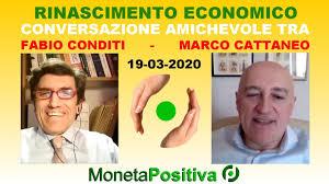 Rinascimento Economico - Marco Cattaneo - 19 marzo 2020 - YouTube