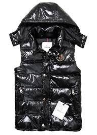 Cheap Moncler Women Vests Down Black,moncler polo shirt,glamorous