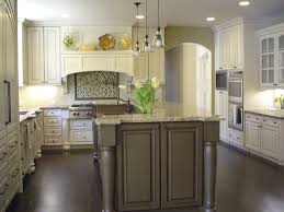 White Kitchen Cabinets With Dark Floors Counter Height The Table