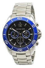 michael kors men s chronograph watch michael kors windward mk8422 black dial stainless steel men s watch