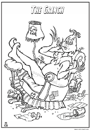 Small Picture Lazy grinch coloring pages