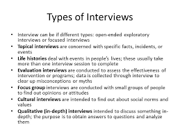 interview mini study writing in the behavioral sciences interview mini study