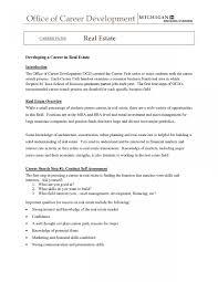 Resume For Entry Level Amazing Entry Level Real Estate Agent Resume Sample For New Trenutno