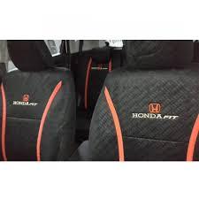full seat cover honda fit gp5 red plus net