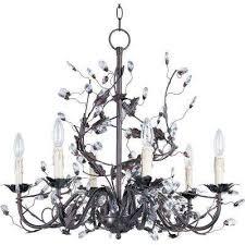 elegant 6 light oil rubbed bronze chandelier