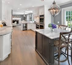 Gray And White Kitchen Timeless Grey And White Kitchen Middletown New Jersey By Design
