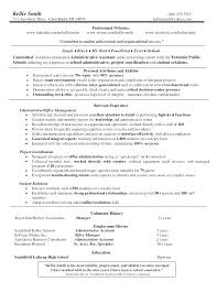 Admin Resume Examples Administration Office Resume Office Assistant ...