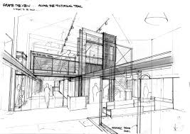 rough architectural sketches. Perfect Rough Sketches This Rough Modern Concept Architectural With  Throughout J