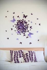 bedroom wall ideas pinterest. Delighful Ideas 25 Best Ideas About Butterfly Wall Decor On Pinterest Homemade Wall Decor  For Bedroom To Bedroom I