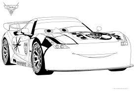 Cars 2 Disegno Da Colorare N7