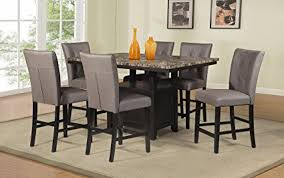best quality dining room furniture. Best Quality Furniture D111CHSet7PC Counter Height Dining Set, Light  Espresso Best Quality Dining Room Furniture I