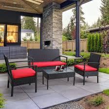 bayia 4 piece patio furniture set