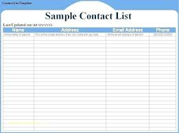 Roster Template Awesome Contact List Templates Extraordinary Staff Contact List Template