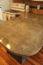 Poured Concrete Kitchen Floor Diy Concrete Kitchen Countertops A Step By Step Tutorial