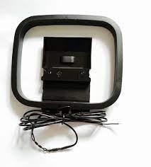 Fm anteni 75ohm UNBAL Dipol T şekli itme Anten ve AM döngü anten Yamaha sony  doğal Ses Stereo Alıcısı|Radio