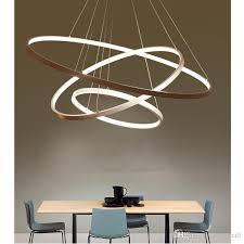 fresh design circular pendant light creative ideas modern ring lights 3 2 1 circle rings acrylic