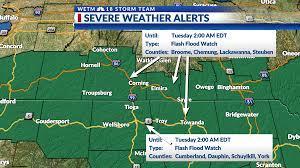 Flash Flood Watch in effect Monday ...