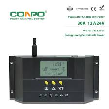 China Cm3024z <b>30A</b>, <b>12V</b>/<b>24V Auto</b>., LCD, PWM Solar Charger ...