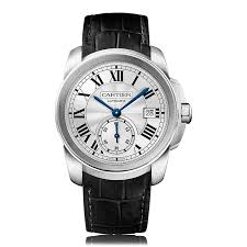 mens cartier watches the watch gallery cartier calibre de cartier automatic stainless steel silver dial unisex watch wsca0003