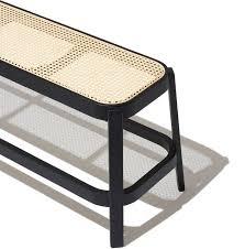 Cane Bench in 2020   Furniture, Ottoman furniture, Furniture decor