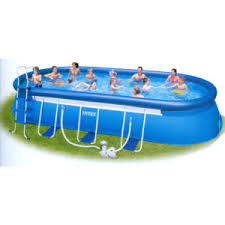 intex above ground pool rectangle. Intex Rectangular Pool Above Ground Rectangle