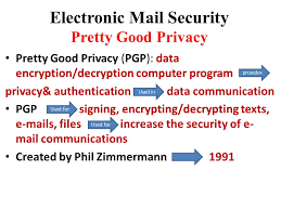 Pretty Good Privacy Electronic Mail Security Prepared By Dr Lamiaa Elshenawy Ppt