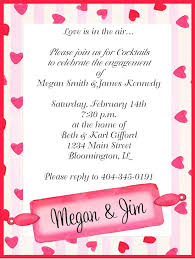 valentines party invitations engagement hearts valentines day party invitations