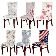 dining chair covers durable spandex polyester universal dining chair cover beautiful vine flower erfly pattern stretch