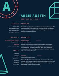 Dark Blue Coral Graphic Outline Illustrations Graphic Design Resume