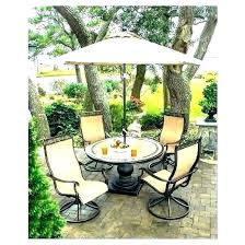 patio table with umbrella patio table umbrella insert set with astounding hole cover p
