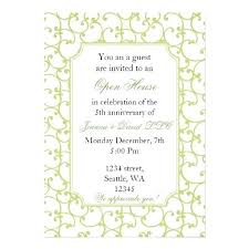 Open House Invites Wording Picture Living Examples Free