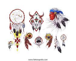 Native Dream Catcher Tattoos Native American Dream Catcher Tattoos Designs 44