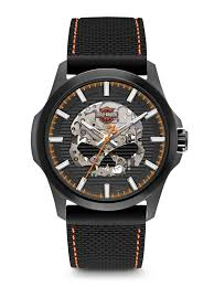 harley davidson men s watches bulova 78a118 harley davidson men s watch