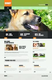 Kennel Website Template Dog Templates Animal Contactory Co
