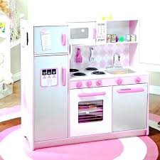 pink play kitchen toys sets little girl microwave oven accessories pink play kitchen since